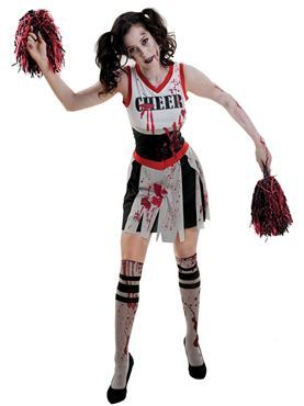 Adult Zombie Cheerleader Costume