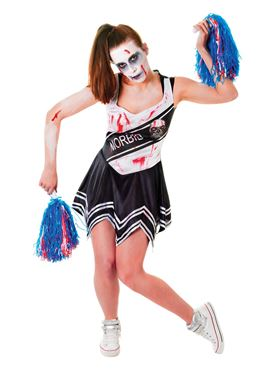 091e0c6e8 Adult Zombie Cheerleader Costume - AC405 - Fancy Dress Ball