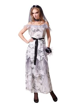 Adult Zombie Corpse Bride Costume Thumbnail