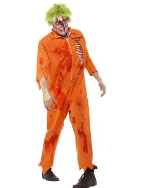 Adult Zombie Death Row Inmate Costume