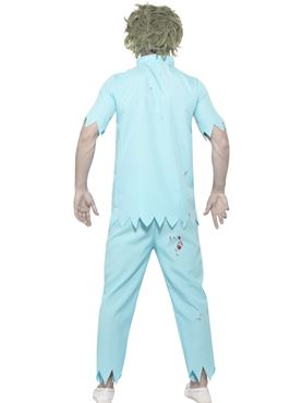 Adult Zombie Dentist Costume - Side View