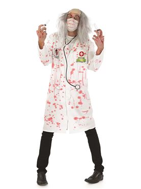 Adult Zombie Doctor Costume Couples Costume