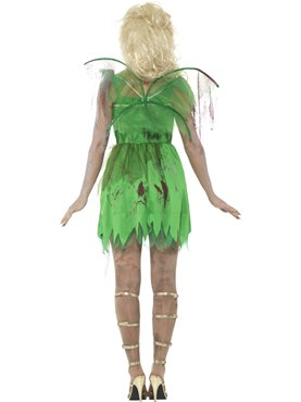 Adult Zombie Fairy Costume - Side View