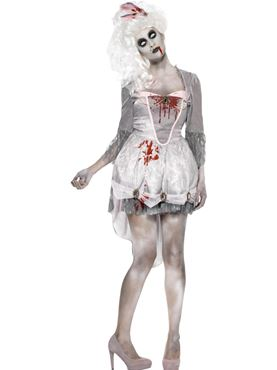 Adult Zombie Georgian Costume Thumbnail
