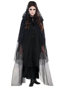 Adult Gothic Lace Cape