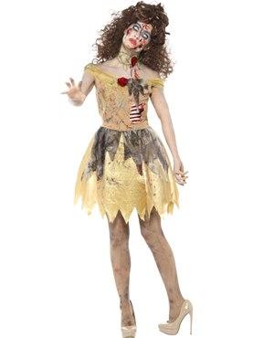 Adult Zombie Golden Fairytale Costume