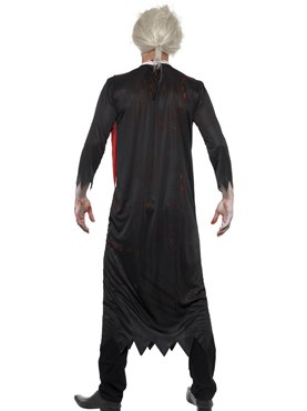 Adult Zombie High Priest Costume - Side View