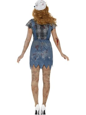Adult Zombie Hillbilly Costume - Side View