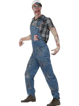 Adult Zombie Hillbilly Costume