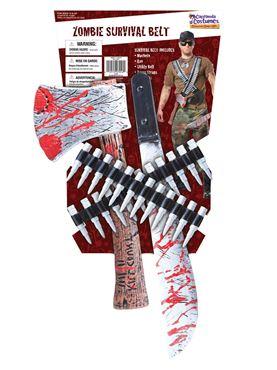 Adult Zombie Survival Kit