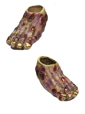 Adult Zombie Latex Feet