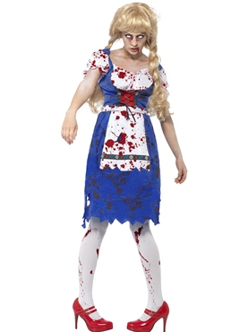 Adult Zombie Bavarian Female Costume Thumbnail