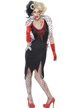 Adult Zombie Evil Madame Costume