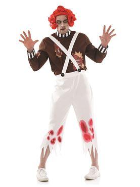 Adult Zombie Oompa Loompa Costume