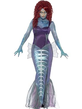 Adult Zombie Mermaid Costume