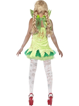 Adult Zombie Tink Fairy Costume - Side View