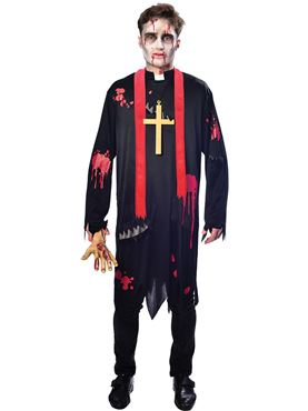 Adult Zombie Vicar Costume