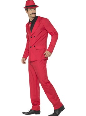 Adult Zoot Suit Costume - Back View