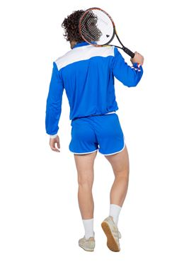 Adults 80's Tennis Player Costume - Side View
