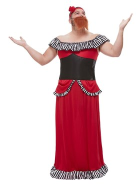 Adults The Greatest Showman Bearded Lady Costume
