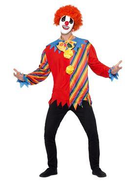 Adults Creepy Clown Kit - Back View