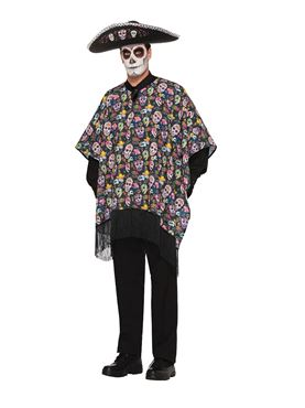Adults Day of the Dead Serape