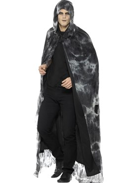 Adult's Deluxe Spellbound Decayed Cape Couples Costume