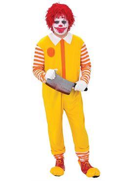 Adults Happy Clown Jumpsuit