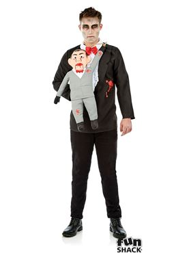 Adults Ventriloquest and Dummy Costume