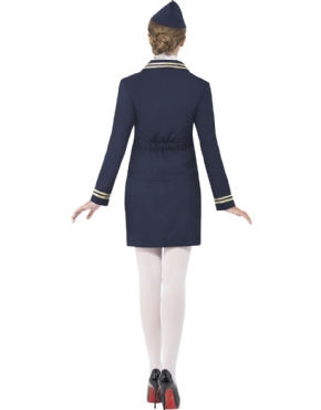 Adult Airways Attendant Costume - Side View