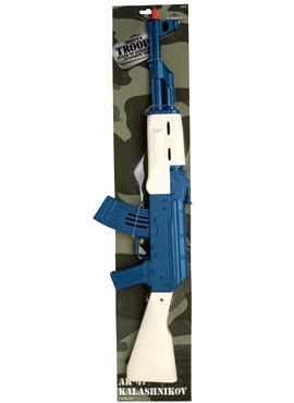 Ak47 Kalashnikov Sparking Sound Rifle - Back View