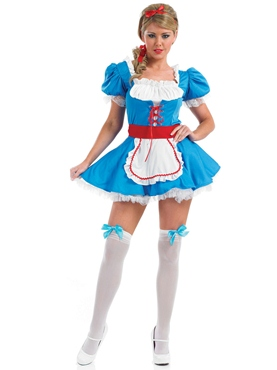 Adult Alice Costume - Back View