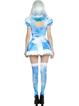 Adult Alice in LSD Land Costume - Side View