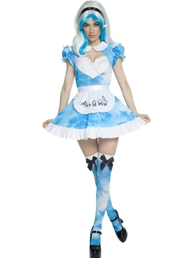 Adult Alice in LSD Land Costume