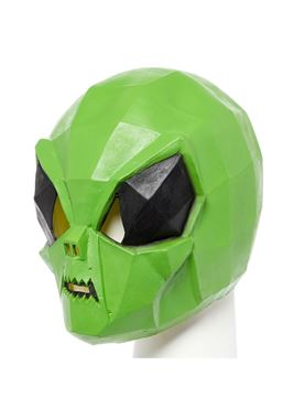 Alien Bug Full Head Mask - Side View