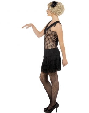 Adult All That Jazz 1920's Flapper Costume - Back View