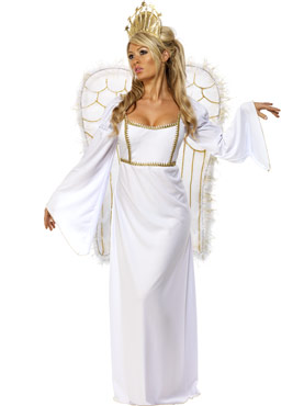 Adult Angel Gown Costume
