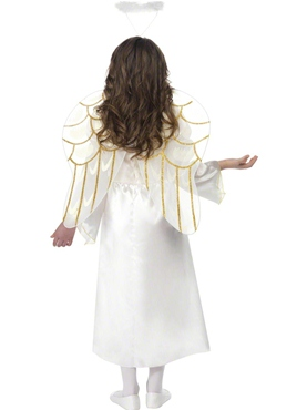 Child Angel Princess Costume - Side View