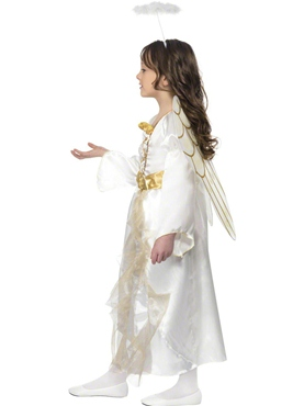 Child Angel Princess Costume - Back View