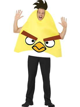 Adult Angry Birds Yellow Costume
