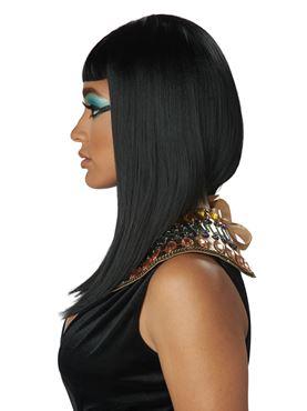 Angular Egyptian Cut Wig - Back View