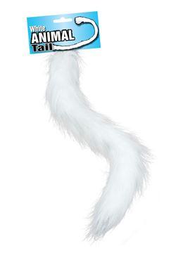 Animal Tail White