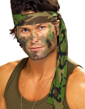 Army Camouflage Headband