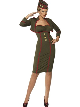 Adult Army Girl Costume