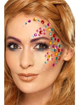 Assorted Rainbow Jewel Face Gems