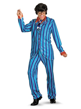 Adult Austin Powers Carnaby Suit Costume