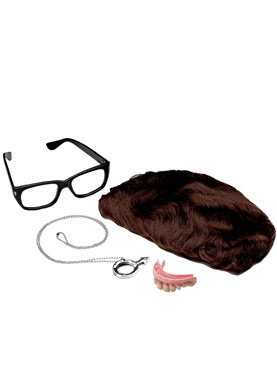 Adult Deluxe Austin Powers Accessory Kit