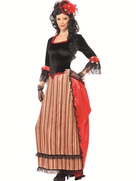 Adult Authentic Western Town Sweetheart Costume Thumbnail