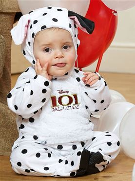 Baby Disney 101 Dalmatians All-in-One Romper