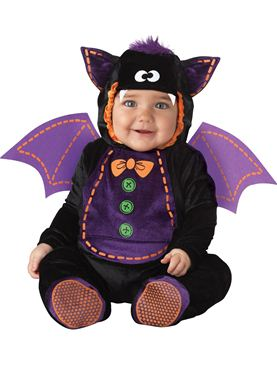 Baby Plush Bat Costume